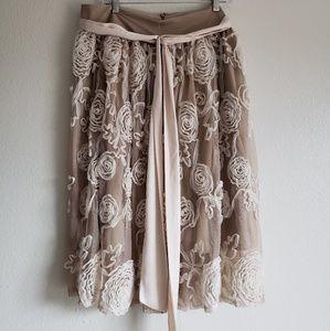 Ruffled rosette Skirt